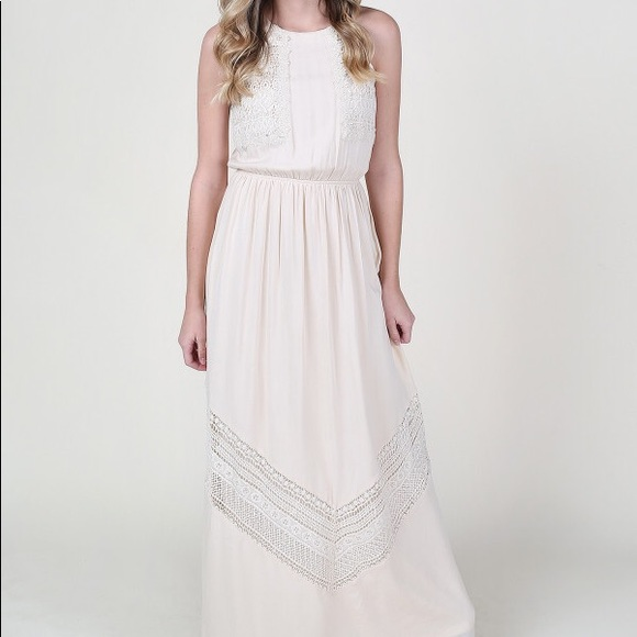 73864225f3 Altar d State Dresses   Skirts - Altar d State Mainland Maxi Ivory Dress